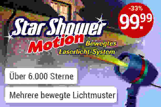Magisches Sternenlicht auf Knopfdruck