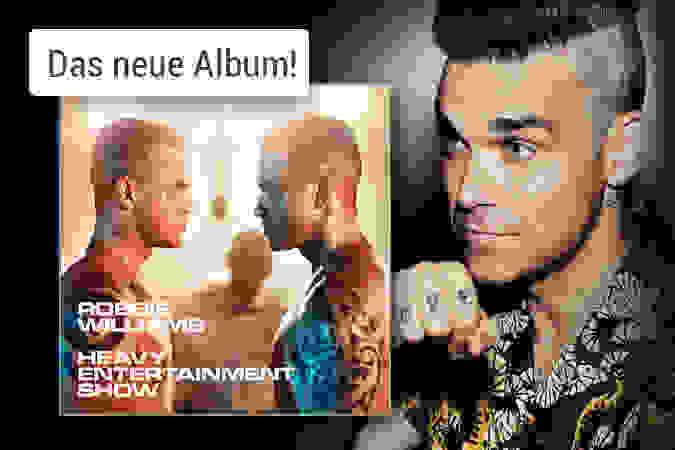 Robbie Williams - The Heavy Entertainment Show CD hier kaufen