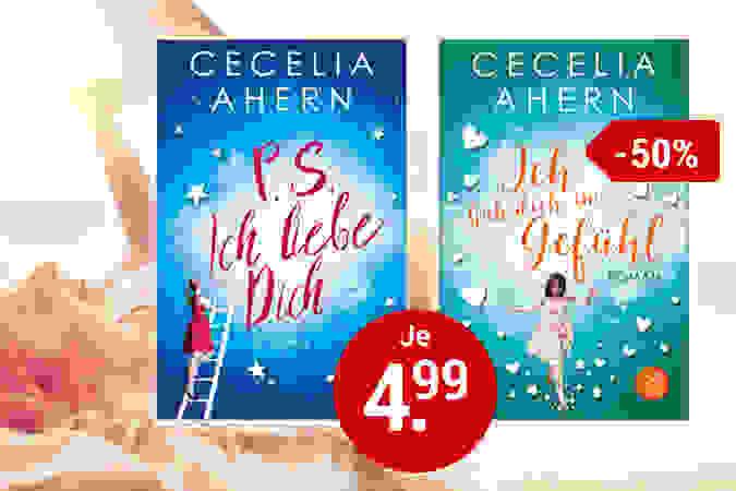 Sechs Bestseller von Cecelia Ahern für nur je 4.99 €!