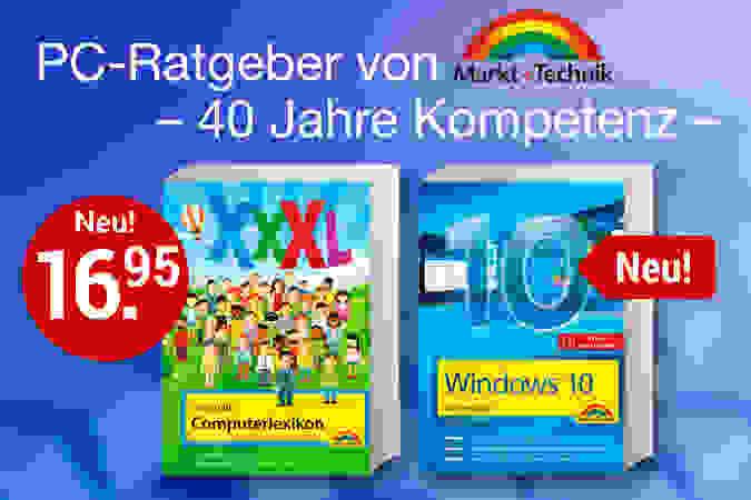 Tolle Computer-Ratgeber von Markt + Technik!