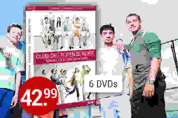 Club der roten Bänder Staffel 1 & 2 jetzt kaufen!