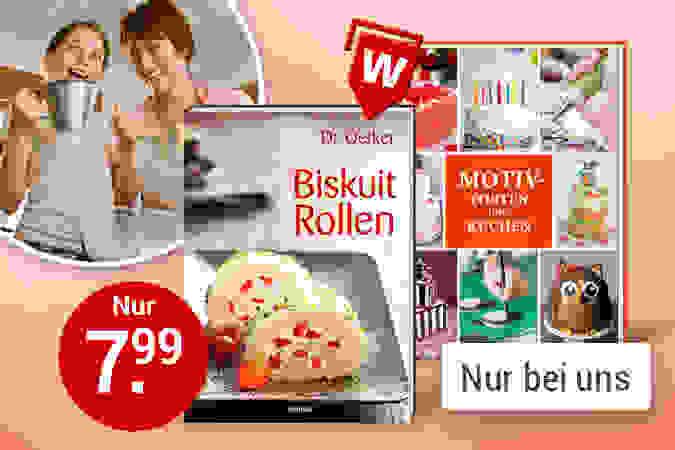 Tolle Koch- und Backbücher mit Weltbild-Vorteil
