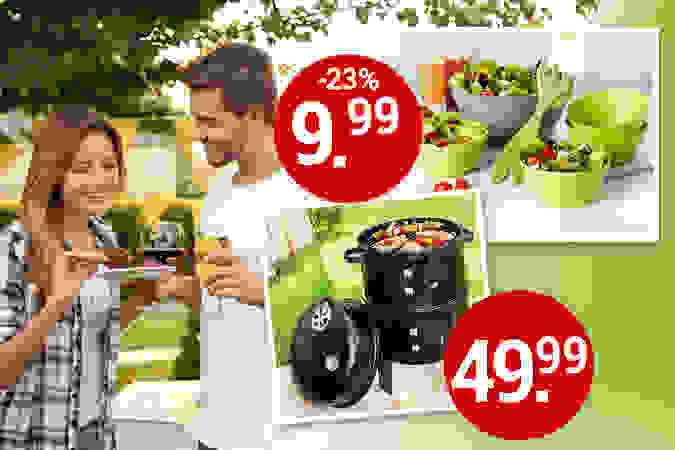 Alles für Ihre perfekte Gartenparty!