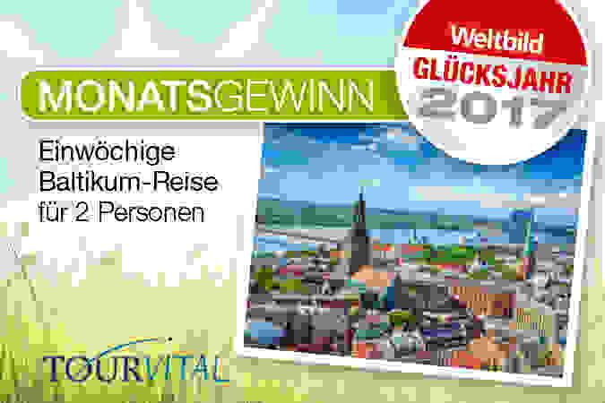 Unser aktueller Monatsgewinn: Gewinnen Sie jetzt eine einwöchige Baltikumreise für 2 Personen!