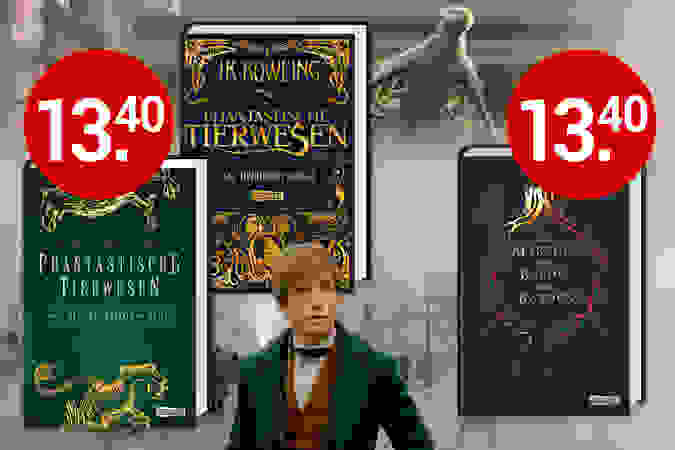 Neu aufgelegt! Die berühmten Schulbücher aus Hogwarts
