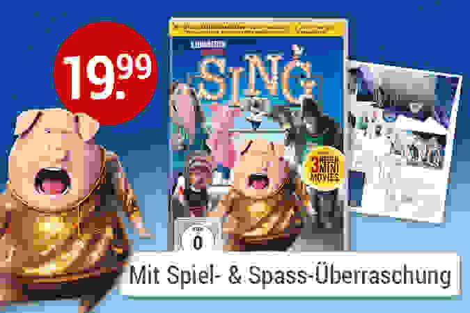 Sing der riesen Spass für die ganze Familie