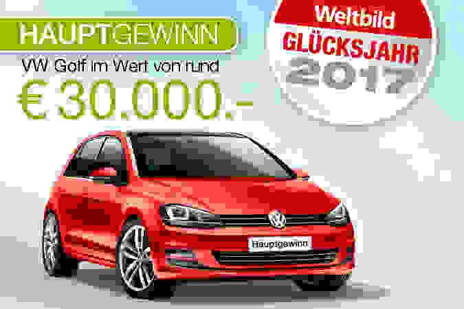 Glücksjahr 2017: Preise im Gesamtwert von über 100.000.- € - jetzt mitmachen!