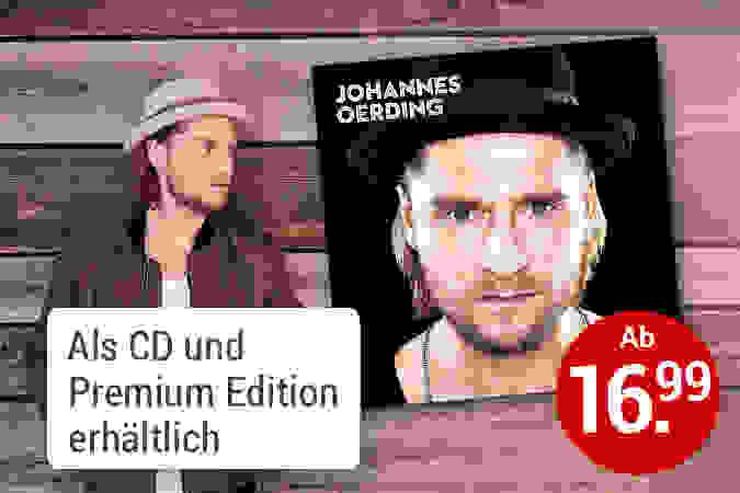 Johannes Oerding CD hier kaufen
