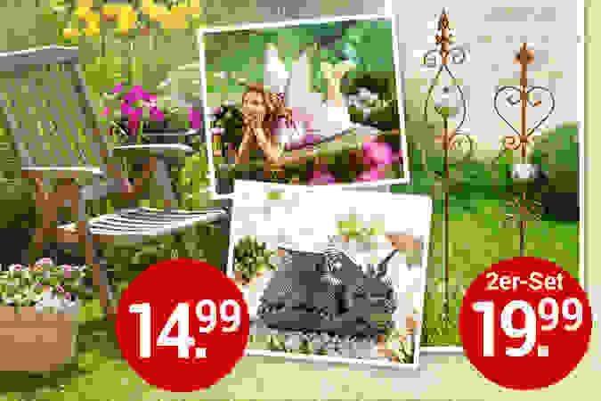 Gartendekoration für den Sommer: So wird Ihr grünes Lieblingszimmer noch schöner