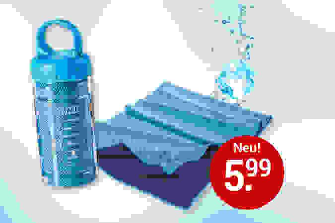 """Kühlhandtuch """"Cool Towel"""" - für Sport und Gesundheit"""