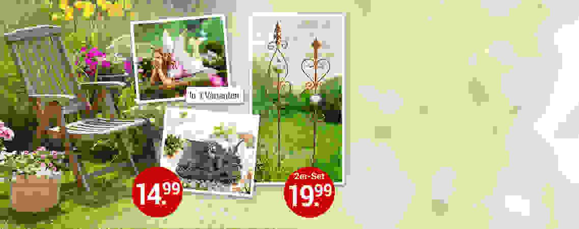 Gartendekoration für den sommer: So wird Ihr grünes Lieblingszimmer noch schöner!