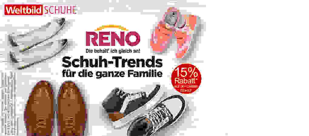 Entdecken Sie Schuhe für die ganze Familie und sparen 15% auf Ihren zweiten Einkauf!