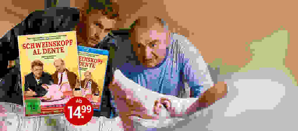 Schweinskopf al Dente auf DVD & Blu-ray jetzt bestellen!