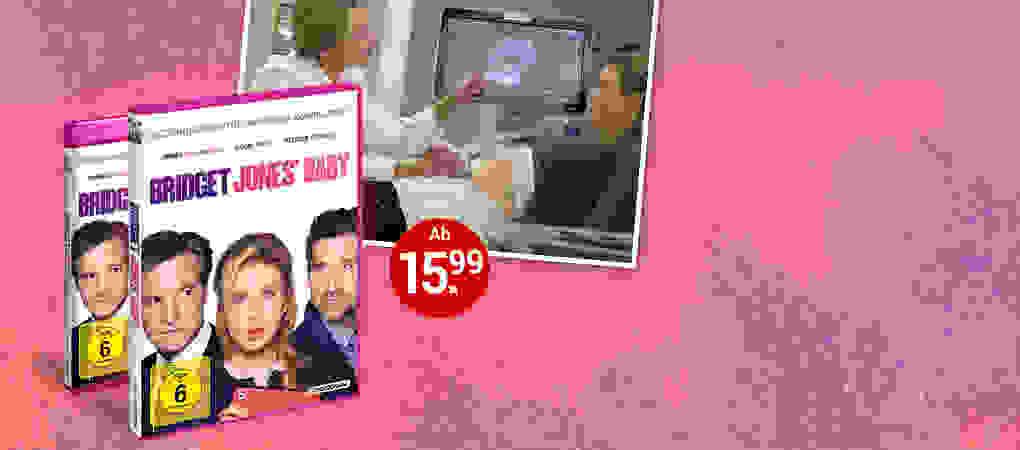 Bridget Jones Baby auf DVD & Blu-ray jetzt auf weltbild.at kaufen!