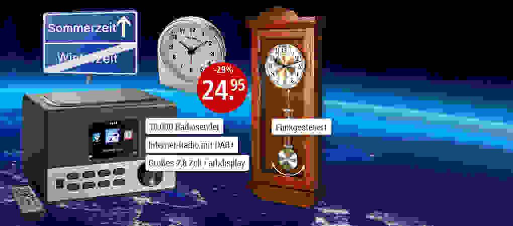 Am 26.03. ist Zeitumstellung