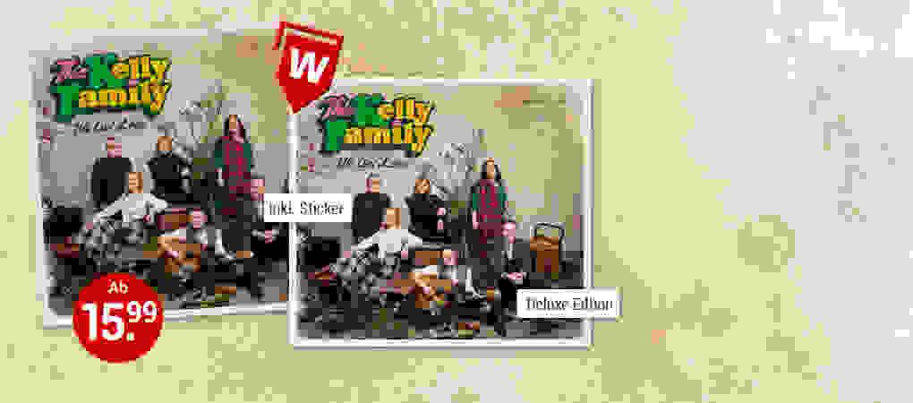 "Das sensationelle Comeback: The Kelly Family mit ""We Got Love""!"
