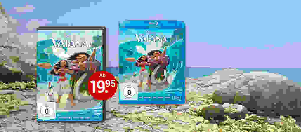 Das Paradies ruft! - Vaiana jetzt auf DVD & Blu-ray