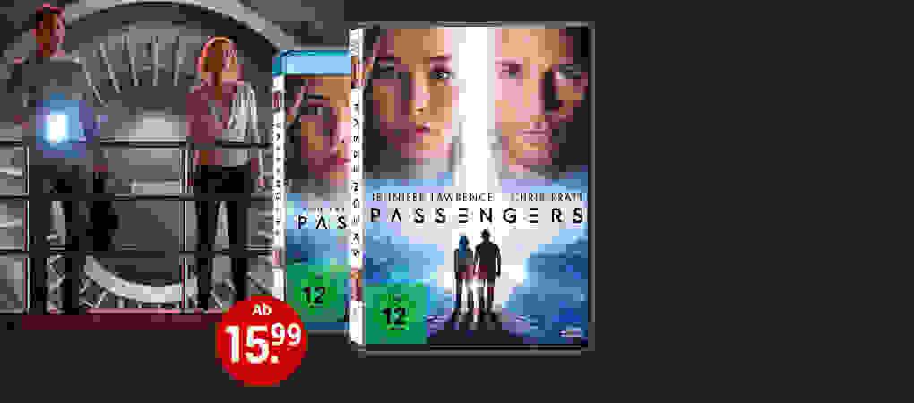Passengers auf DVD & Blu-ray - Jetzt bestellen!