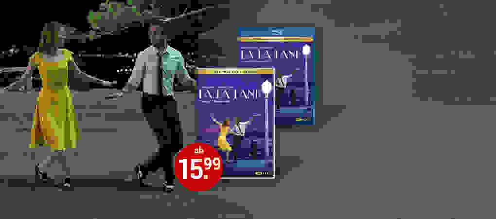 La La Land auf DVD & Blu-ray jetzt kaufen!