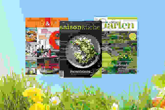 Zeitschriften mit vielen Tipps für Ostern