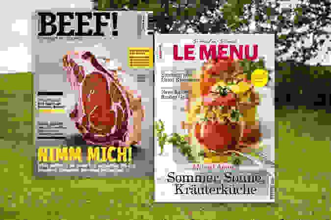 Zeitschriften zum Thema Grillen