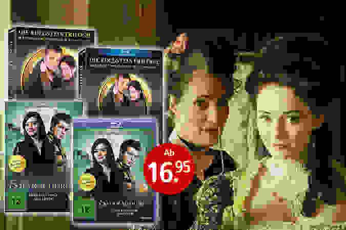 Die Edelstein-Trilolgie bei uns als DVD & Blu-ray