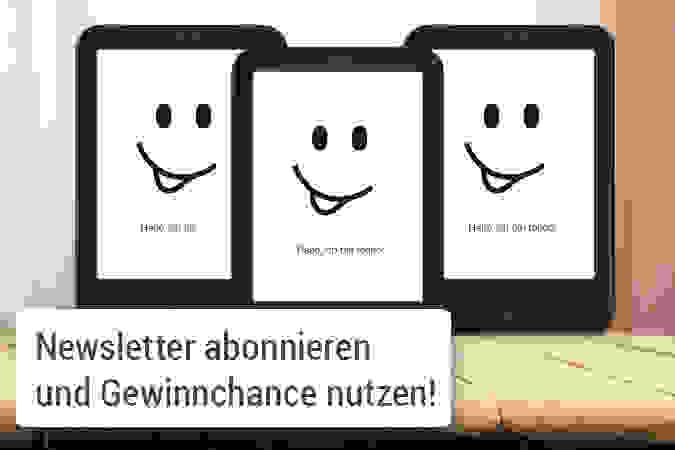 Newsletter Gewinnspiel - 3x tolino shine 2 HD gewinnen!