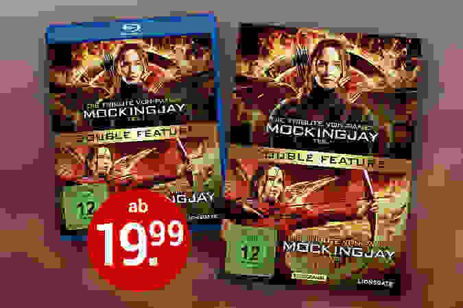 Mockingjay Teil 1 & 2 auf DVD & Blu-ray