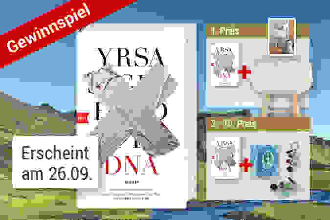 """Tolles Gewinnspiel zur neuen isländischen Krimiserie """"DNA"""" von Yrsa Sigurdardóttir"""