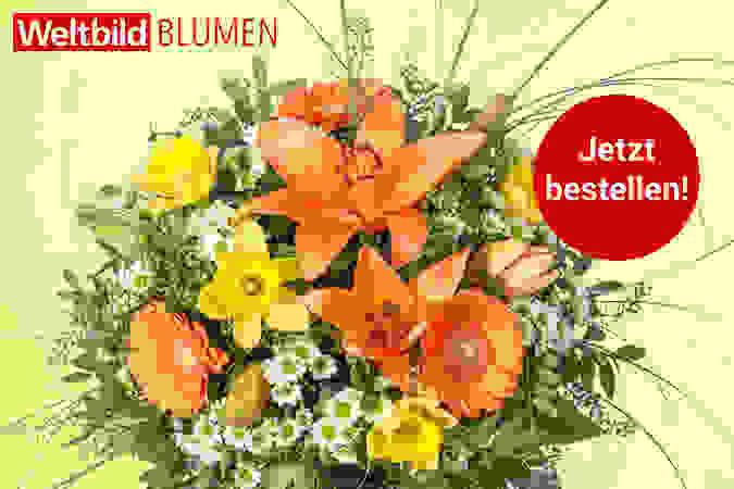 Schenken Sie Freude mit einem bunten Blumenstrauß!