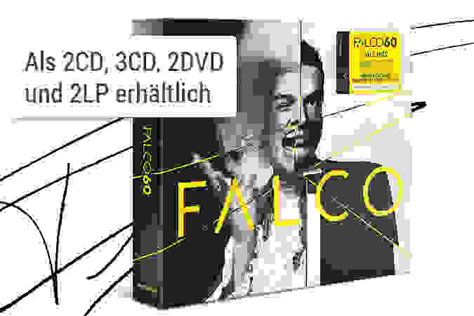 Falco - Falco 60 CD hier kaufen
