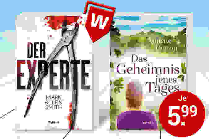 Taschenbücher so günstig nur als Weltbild-Ausgabe