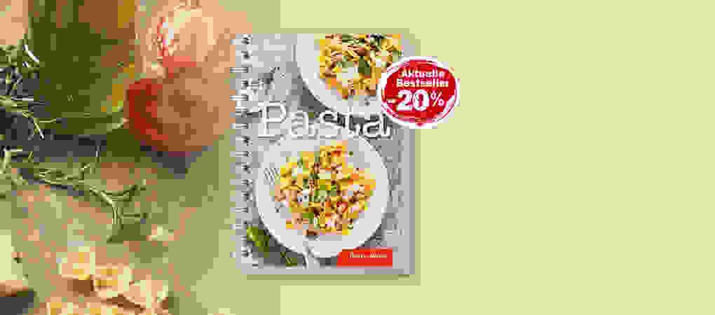 Mit dem Kochbuch «Pasta» von Betty Bossi ist Ihnen der vollkommene Pasta-Genuss garantiert!