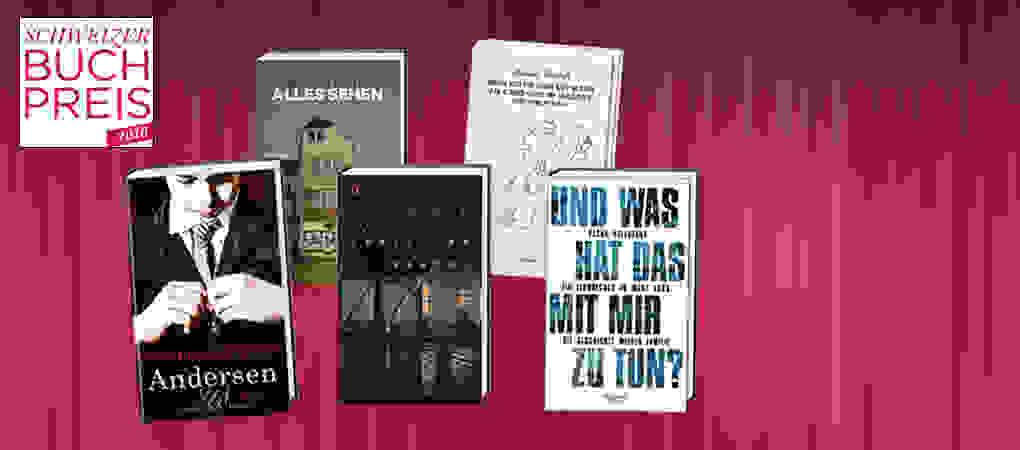 Die Nominierten des Schweizer Buchpreis 2016!