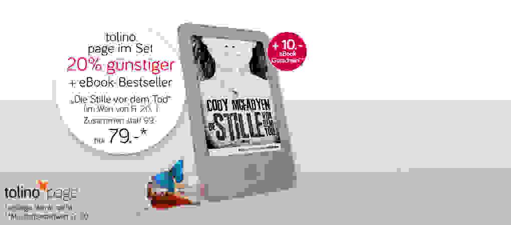 Limitiertes Top-Angebot - eReader inkl. eBook!