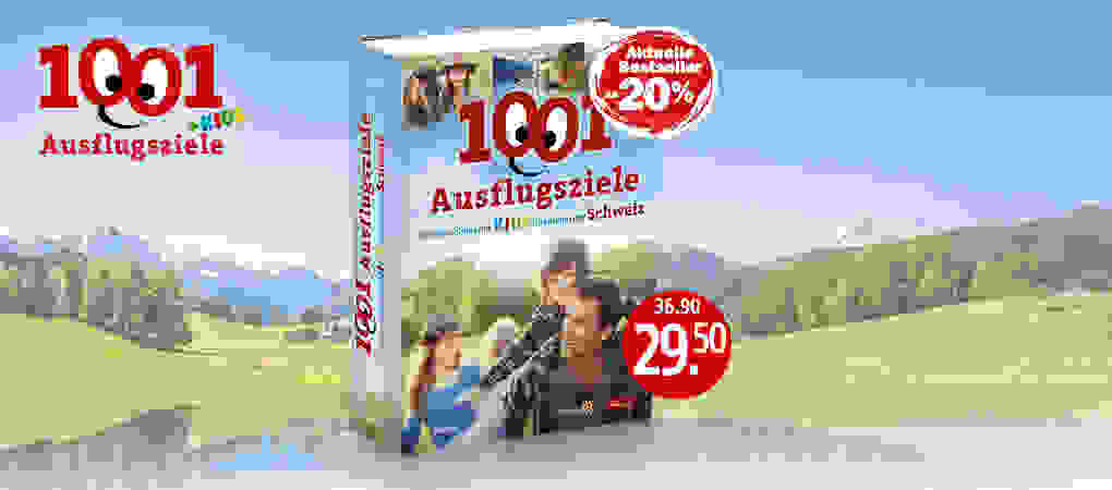 """Die Neuausgabe """"1001 Ausflugsziele"""""""