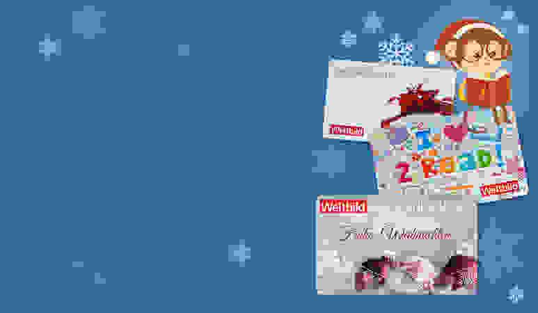 Weltbild-Geschenkkarten - einlösbar bei weltbild.de, kidoh.de und jokers.de!