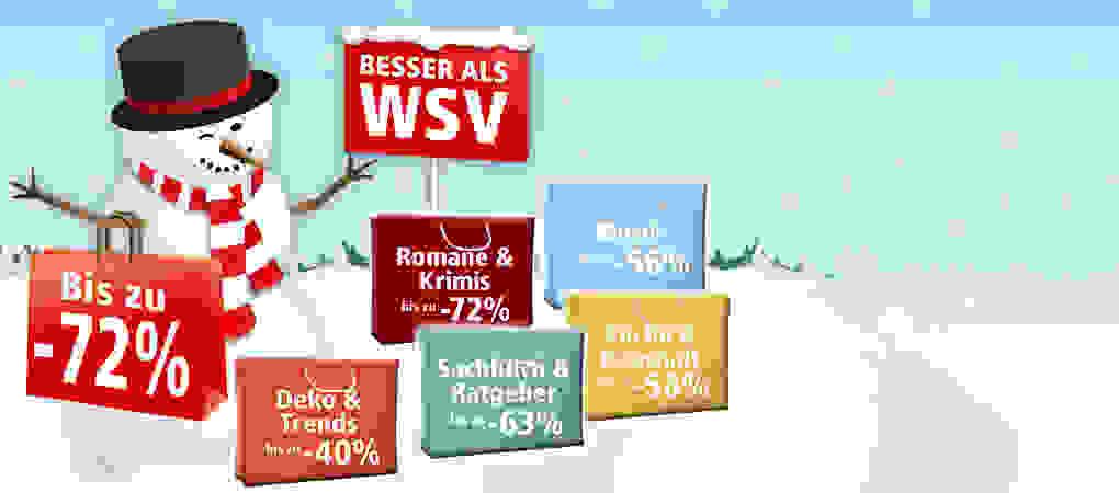 Besser als WSV - jetzt Schnäppchen bis zu 72% günstiger sichern!