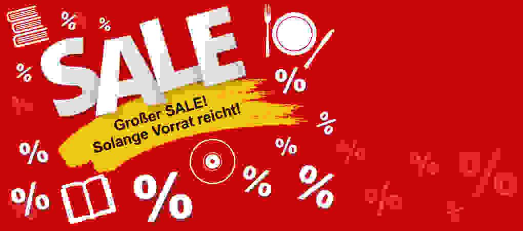 SALE - Bücher ab 1.- EUR, DVDs ab 2.99, Buch-Pakete ab 7.99 EUR u.v.m.