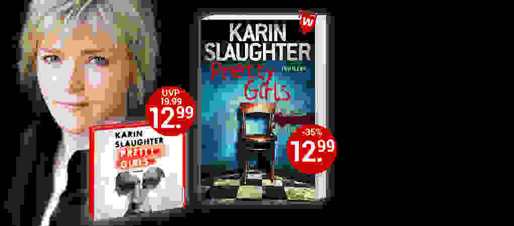 Karin Slaughter, Pretty Girls. Sie sparen 35%!