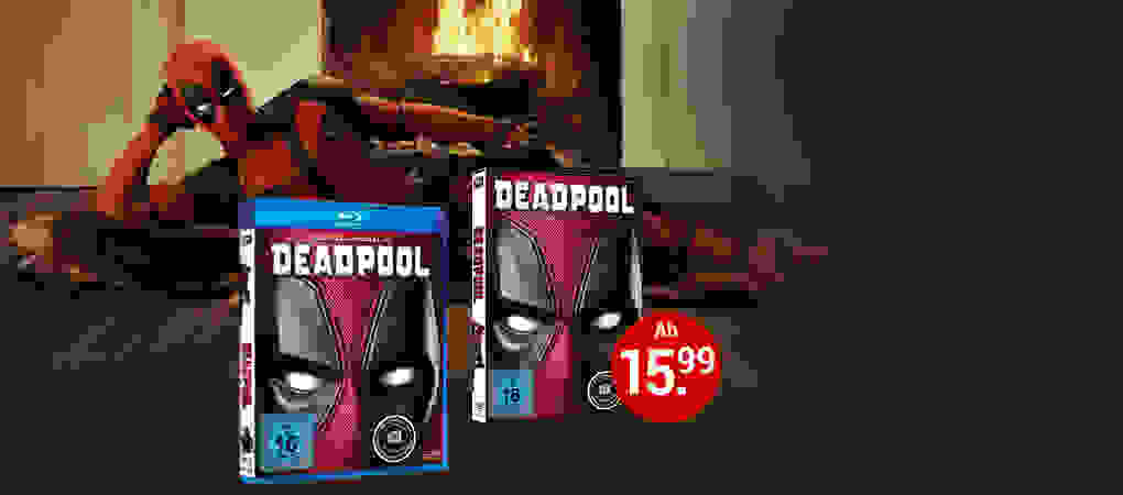 Deadpool auf DVD & Blu-ray