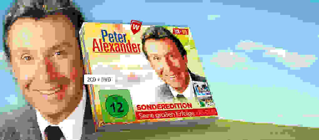 Peter Alexander CD + DVD hier kaufen