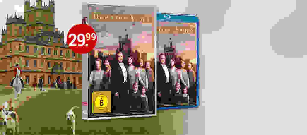 Downton Abbey Staffel 6 auf DVD & Blu-ray jetzt bestellen!