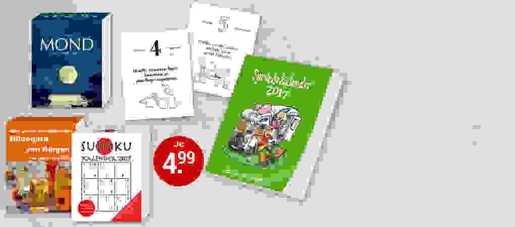 Tages-Abreißkalender für je nur 4.99 €