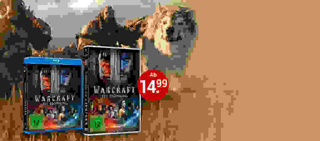 Warcraft: The Beginning DVD & Blu-ray jetzt bestellen!