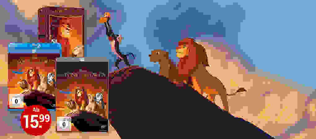 Der König der Löwen - Endlich wieder auf DVD & Blu-ray