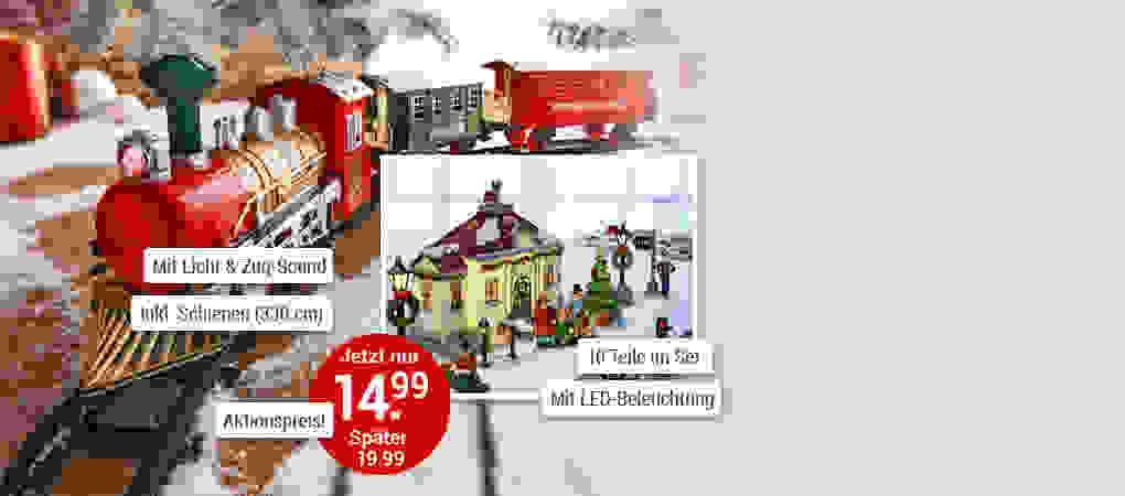 Nostalgischer Weihnachtszauber für Ihr Zuhause