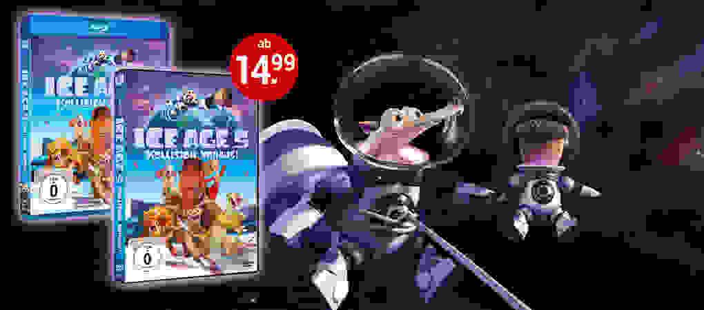 Ice Age 5 auf DVD, Blu-ray & 3D Blu-ray - Jetzt kaufen!