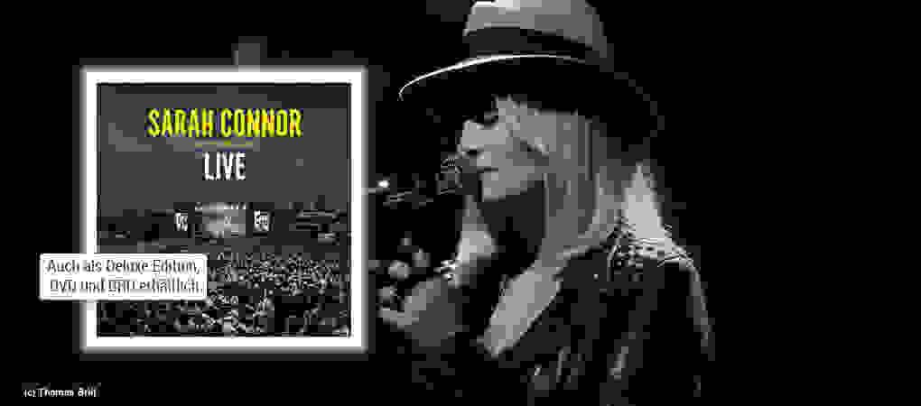 Sarah Connor - Muttersprache Live CD hier kaufen