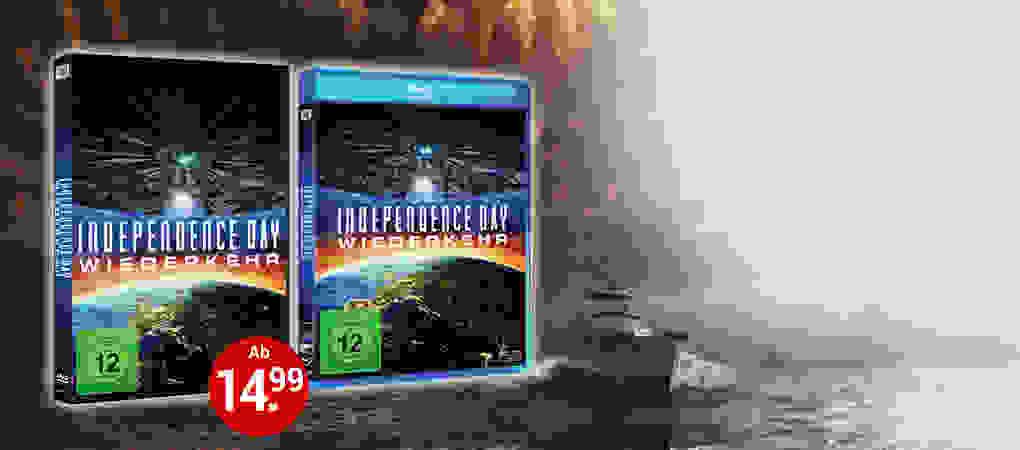 Independence Day 2: Wiederkehr auf DVD & Blu-ray!